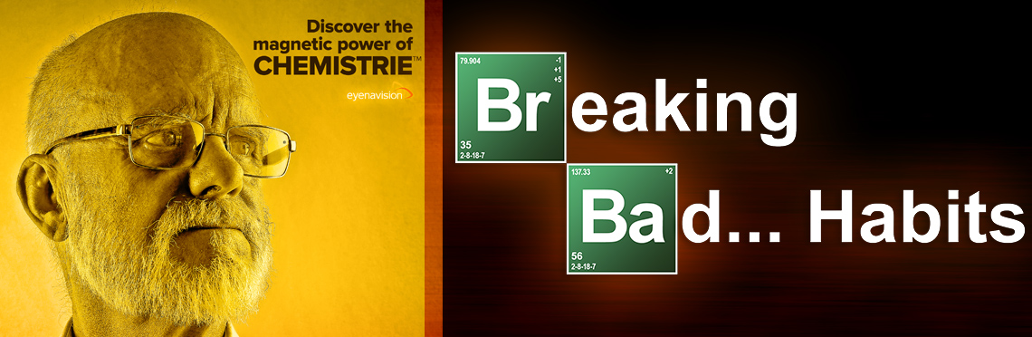 Chemistrie article hero image in the style of Breaking Bad