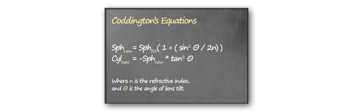 Coddingtons Equations