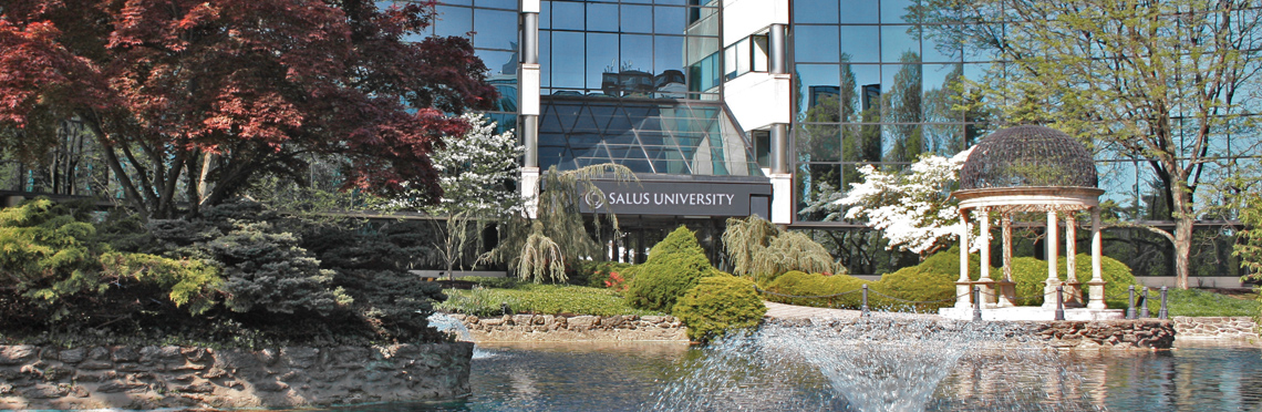 Salus University campus entry