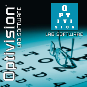 Optivision Logo. Ophthalmic Management Systems and Software Solutions