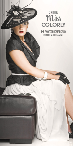 Attractive woman dressed in 1930's apparel