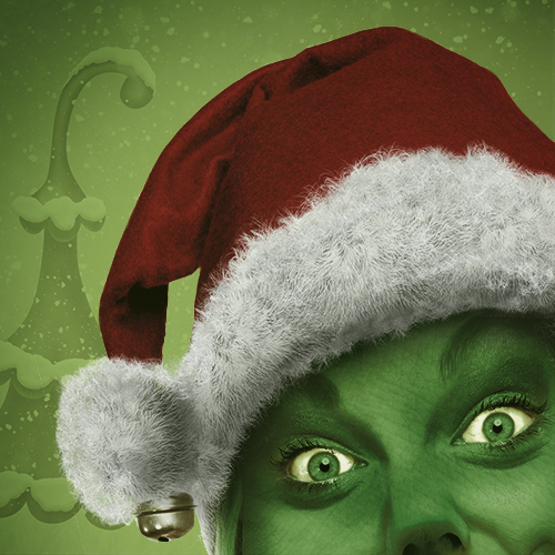 grinch-looking person